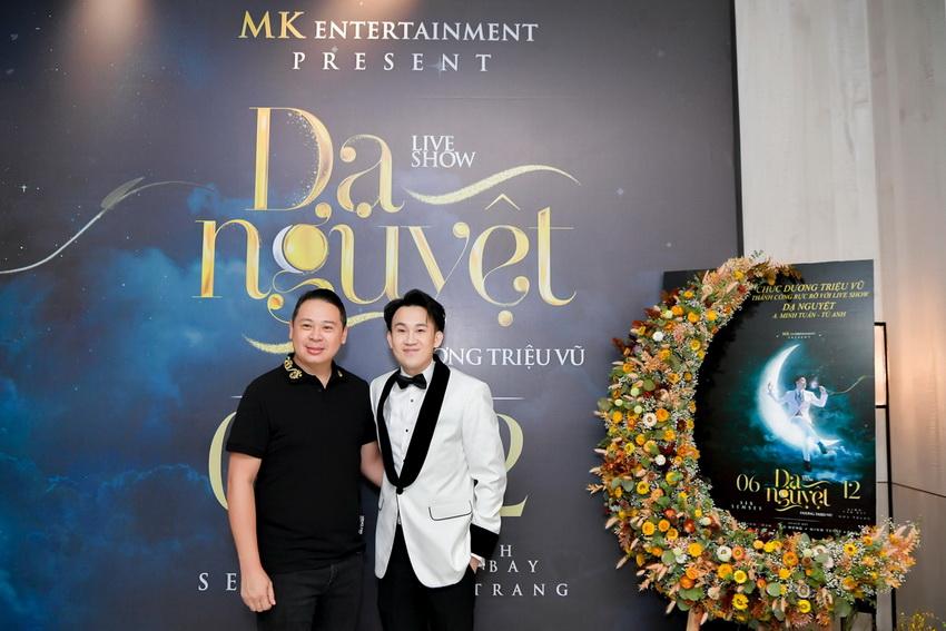 Liveshow Dương Triệu Vũ có mức giá cao nhất lên đến100 triệu đồng 1 cặp 004