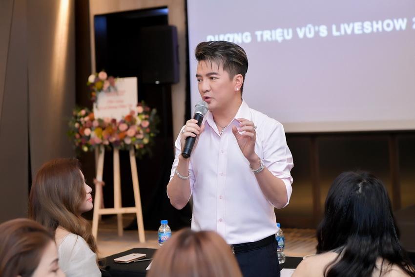 Liveshow Dương Triệu Vũ có mức giá cao nhất lên đến100 triệu đồng 1 cặp 007
