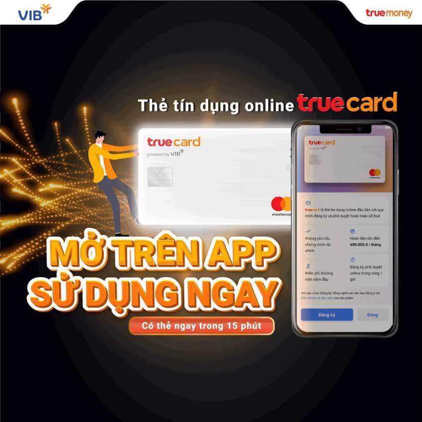 Ra mắt thẻ tín dụng trực tuyến Truecard -2