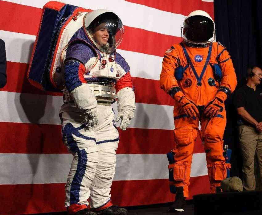 Mỹ lại tự đưa người lên ISS và cuộc cách mạng trang phục không gian -4