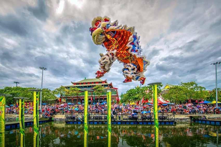 Công viên châu Á đón khách trở lại với loạt sự kiện hoành tráng dịp Giáng sinh, năm mới -2