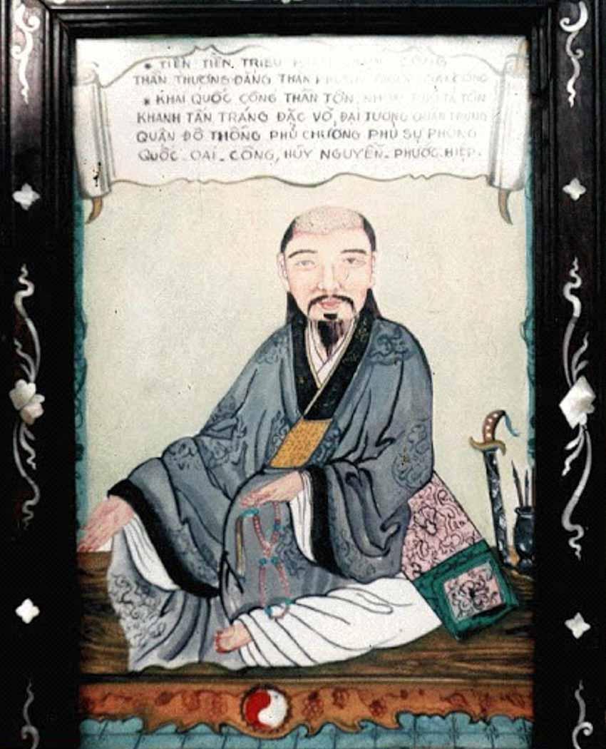 Tướng Nguyễn Phúc Hiệp trở thành nhà sư đức độ -1