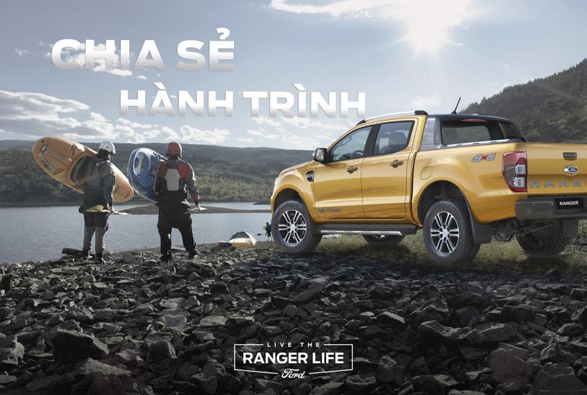 """Ford Việt Nam khởi động chiến dịch thương hiệu cho dòng xe Ranger - Sống """"chất"""" như Ranger - 1"""