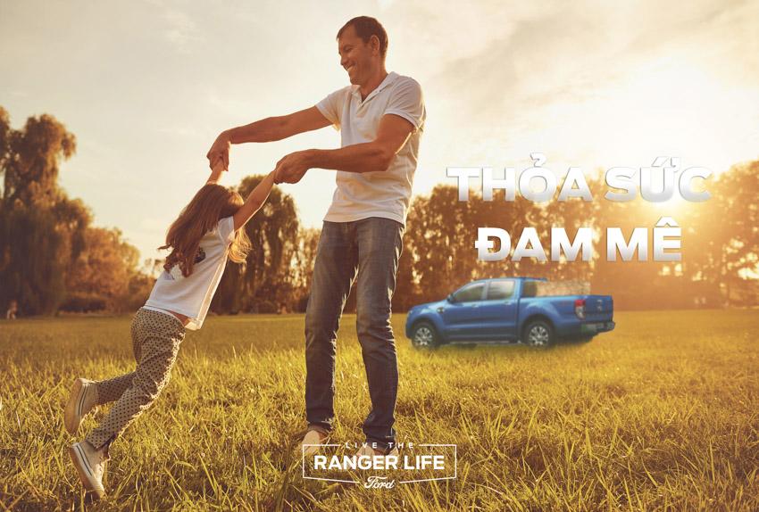 """Ford Việt Nam khởi động chiến dịch thương hiệu cho dòng xe Ranger - Sống """"chất"""" như Ranger - 4"""