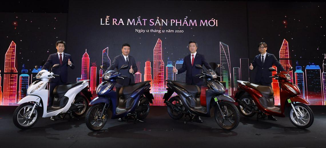 Honda Vision thế hệ mới ra mắt tại Việt Nam, giá từ 30 triệu đồng - 1
