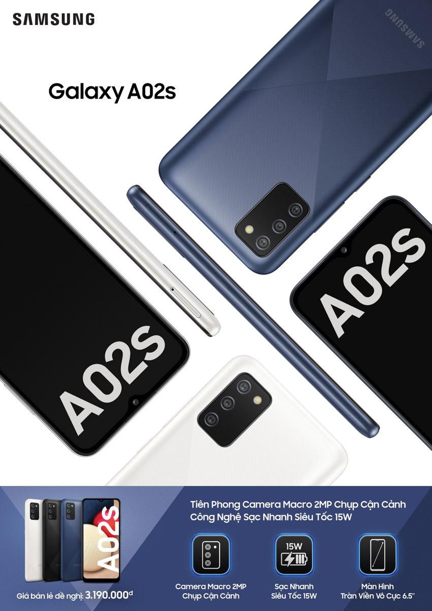 Samsung ra mắt bộ đôi Galaxy A12 và A02s: 4 camera, màn hình lớn và dung lượng pin vượt trội - 2