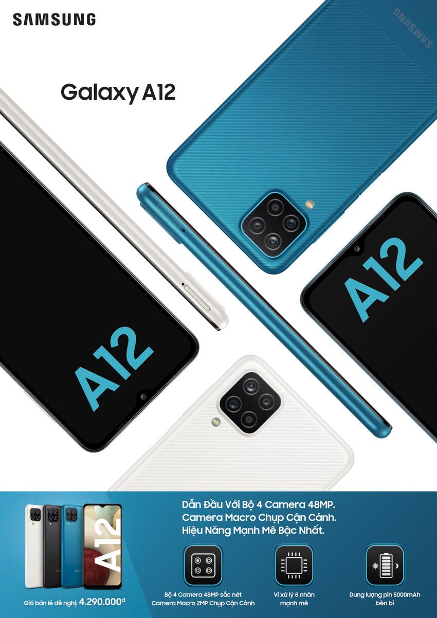 Samsung ra mắt bộ đôi Galaxy A12 và A02s: 4 camera, màn hình lớn và dung lượng pin vượt trội - 3