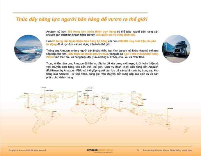 Amazon Global Selling công bố báo cáo hoạt động năm 2020: Chắp cánh hàng Việt vươn mình Thế giới - 2