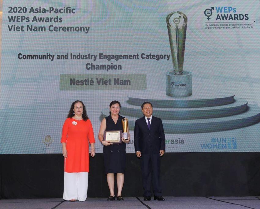 Nestlé nhận giải thưởng