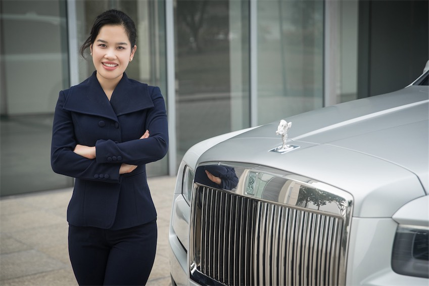 Bà Tú Lê, Giám đốc Thương hiệu của Rolls-Royce Motor Cars tại thành phố Hồ Chí Minh
