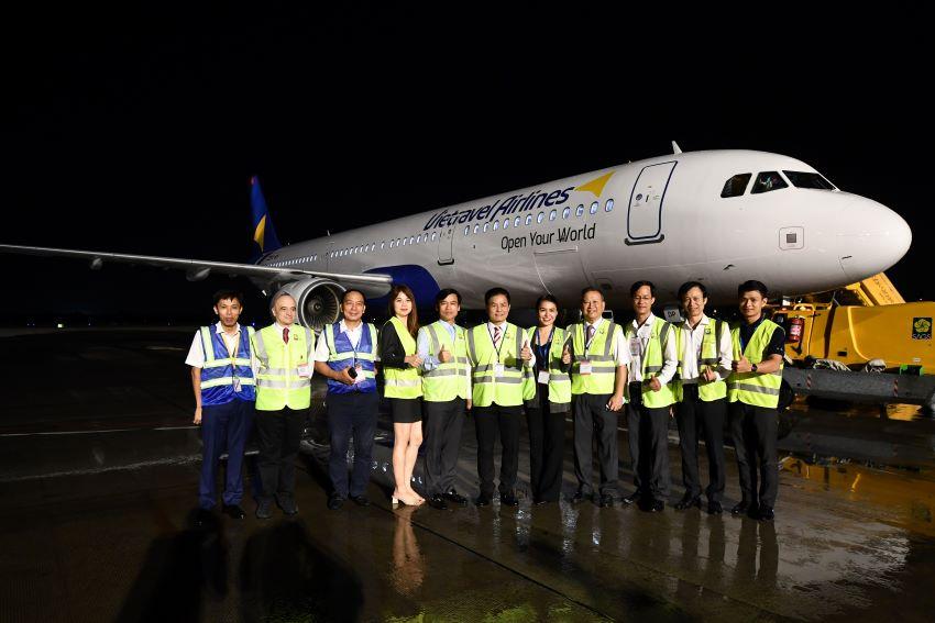 tàu bay Vietravel Airlines