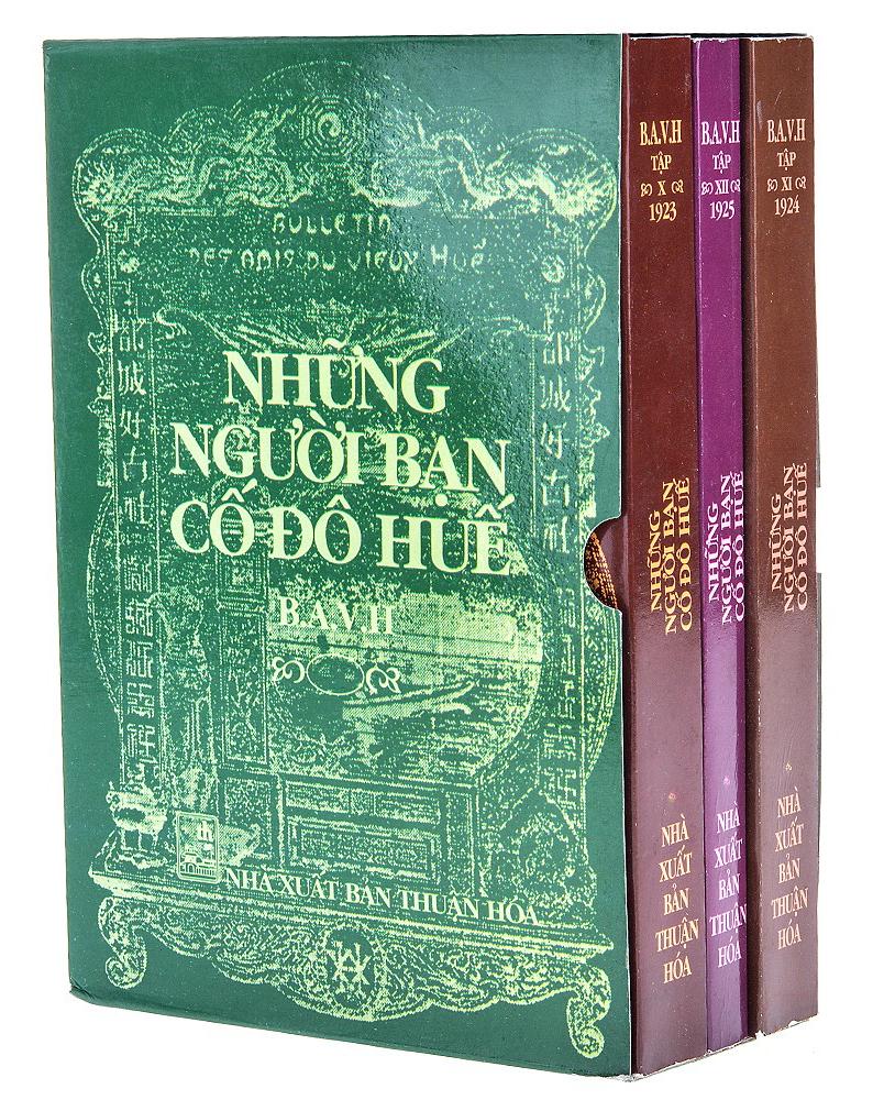 Bộ sách Những người bạn Cố đô Huế do NXB Thuận Hóa phát hành