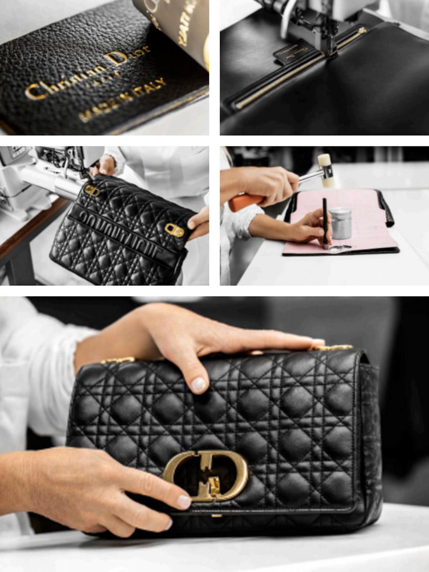 Chiếc túi Dior Caro: Sự kết hợp giữa tính sáng tạo cùng kỹ thuật điêu luyện-7
