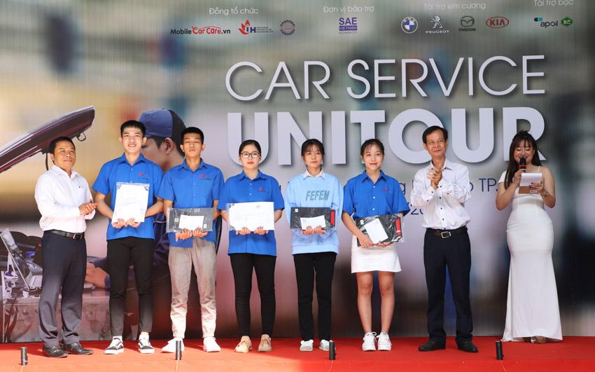 Car Service Unitour - Chương trình Trải nghiệm dịch vụ ô tô tại các trường đại học-1