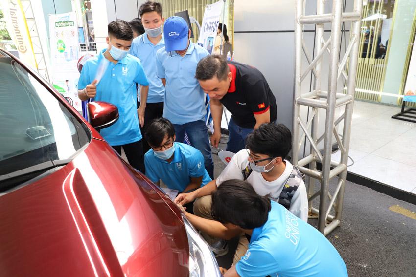 Car Service Unitour - Chương trình Trải nghiệm dịch vụ ô tô tại các trường đại học - 25
