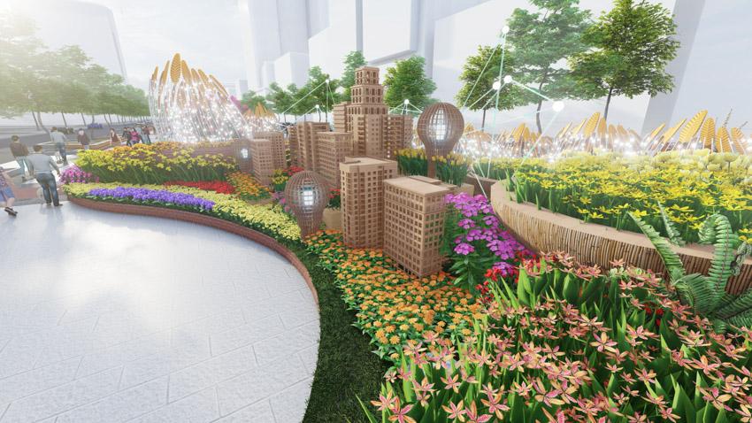 Đường hoa Nguyễn Huệ Tết Tân Sửu 2021 - 1