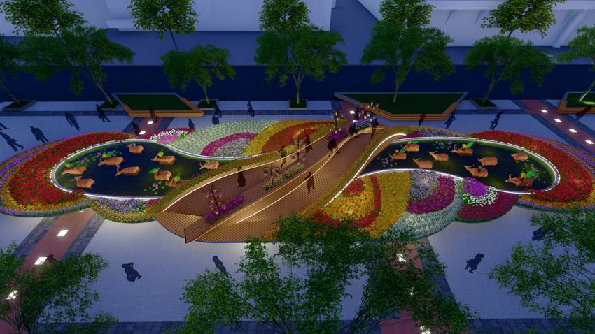 Đường hoa Nguyễn Huệ Tết Tân Sửu 2021-9