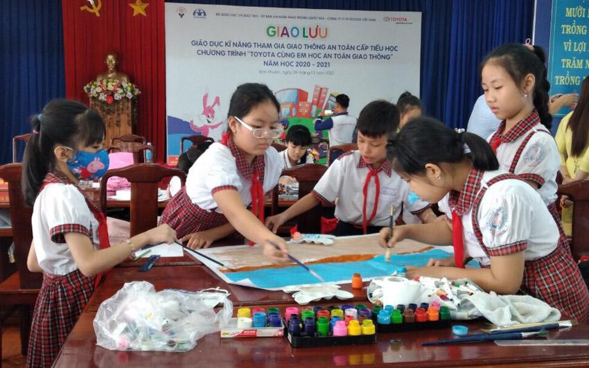 Toyota cùng em học An toàn giao thông 2021 khởi động tại Bình Phước- 2