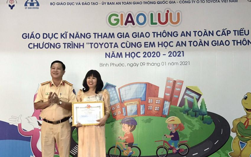 Toyota cùng em học An toàn giao thông 2021 khởi động tại Bình Phước - 3