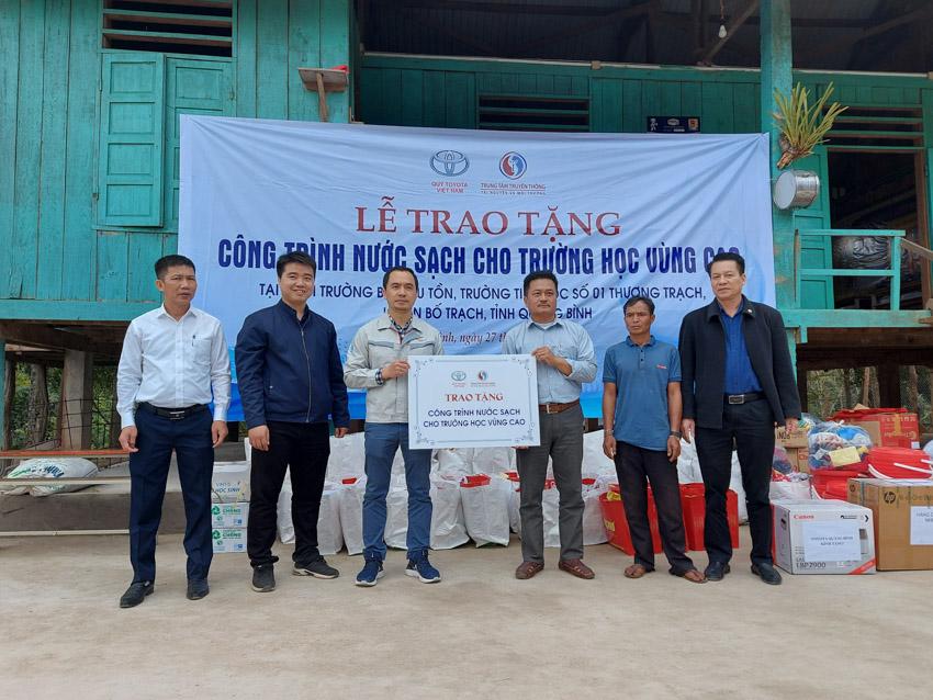 Quỹ Toyota Việt Nam cung cấp nước sạch cho các Trường Tiểu học tại tỉnh Quảng Bình - 2