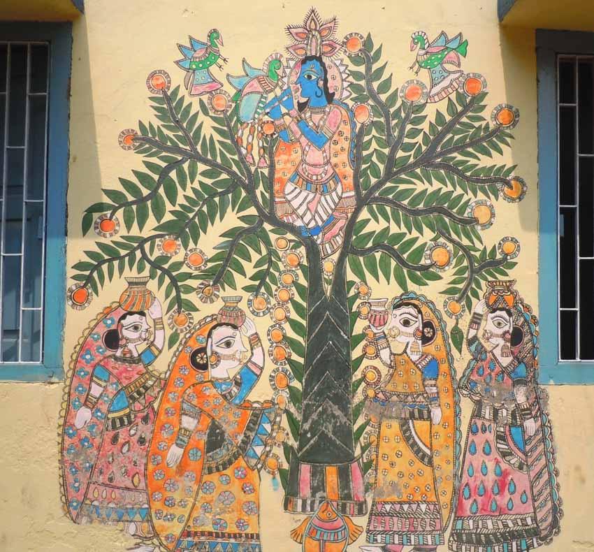 Mỹ Thuật Madhubani, Ấn Độ - 14