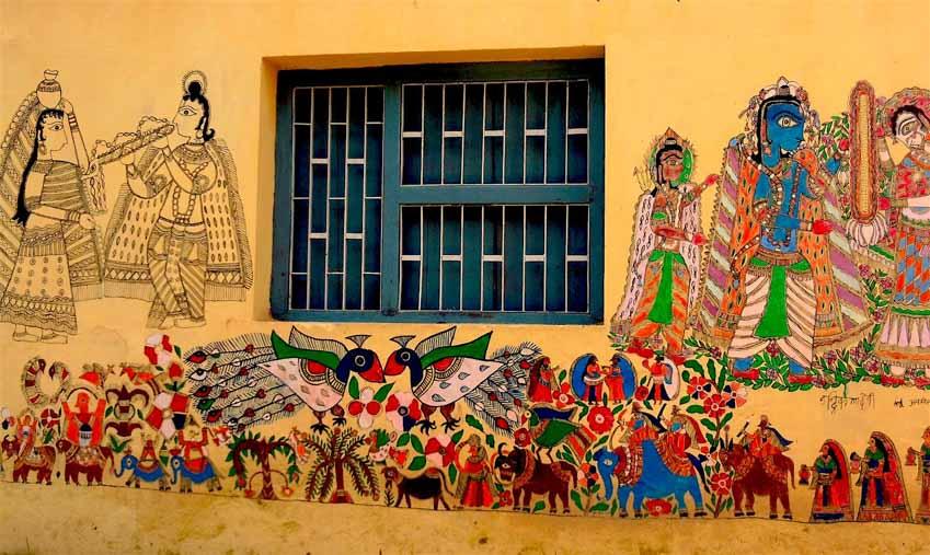 Mỹ Thuật Madhubani, Ấn Độ - 15