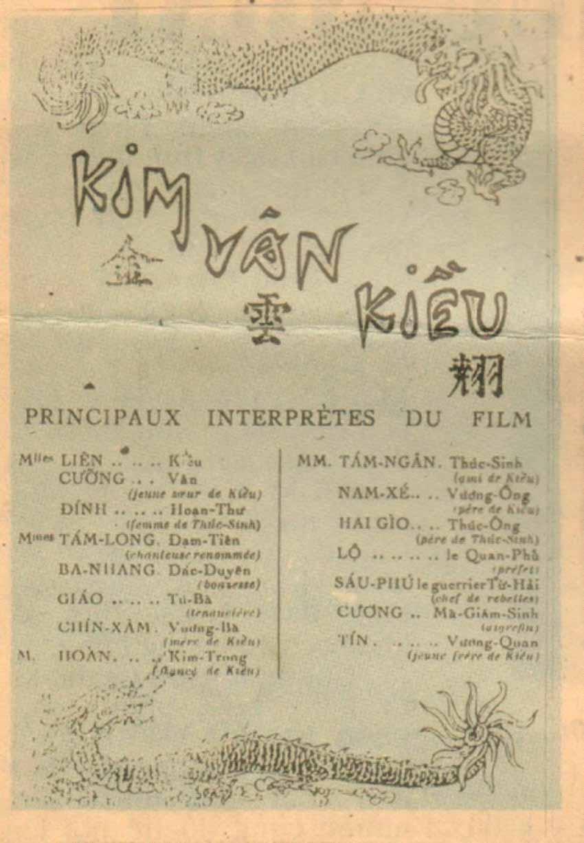 Kim Vân Kiều- Cuốn phim truyện đầu tiên sản xuất tại Việt Nam - 1