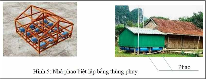Hội thảo Thiên tai lũ quét, sạt lở đất ở khu vực miền Trung: Những mẫu nhà đặc biệt giúp phòng, chống bão lũ - 5