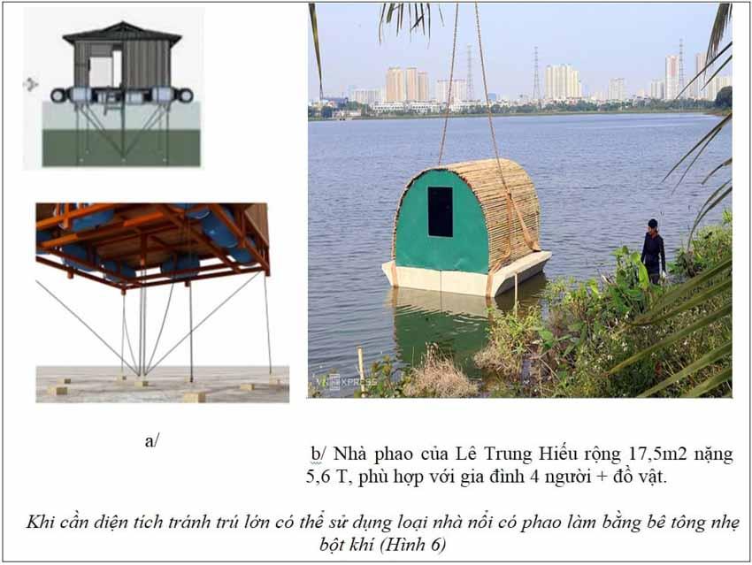 Hội thảo Thiên tai lũ quét, sạt lở đất ở khu vực miền Trung: Những mẫu nhà đặc biệt giúp phòng, chống bão lũ - 6