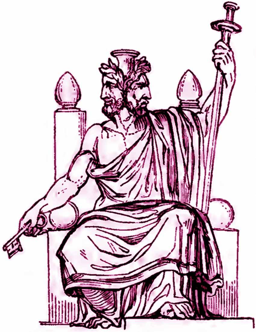 Tháng giêng vị thần gác cửa của năm - 1