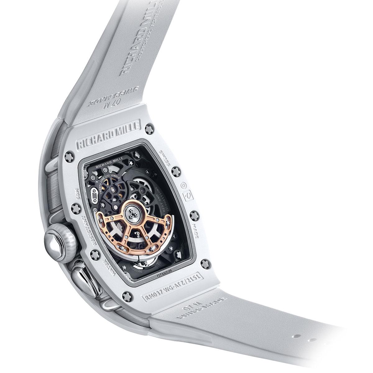 Đồng hồ Richard Mille RM 037 White Ceramic Automatic - 3