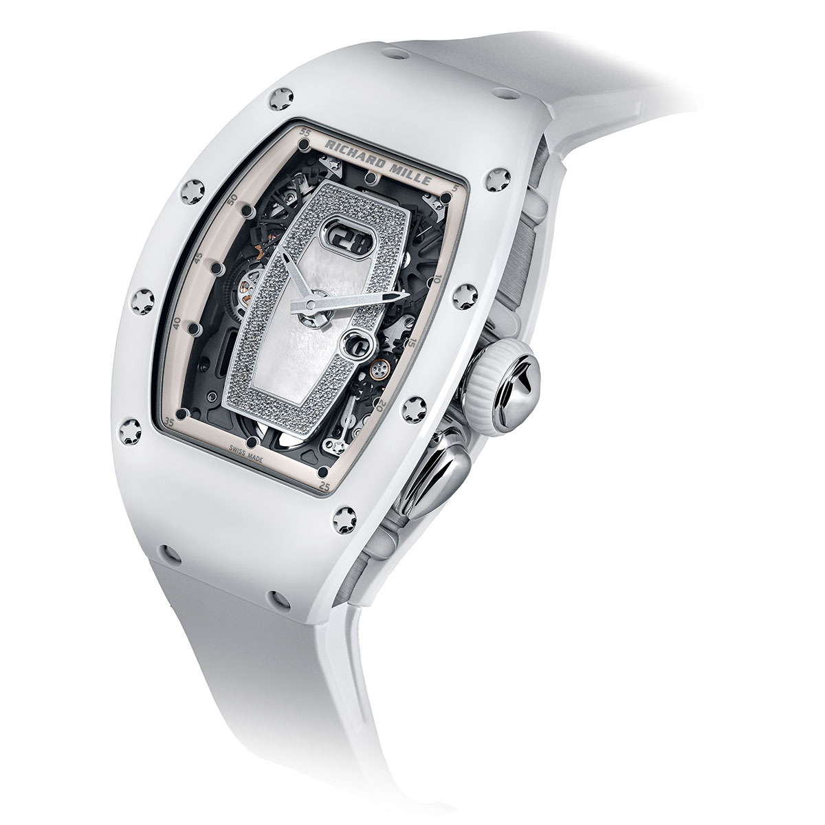 Đồng hồ Richard Mille RM 037 White Ceramic Automatic - 4