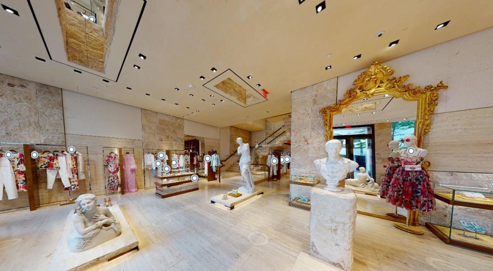 Dolce & Gabbana ra mắt cửa hàng thời trang thực tế ảo - 1