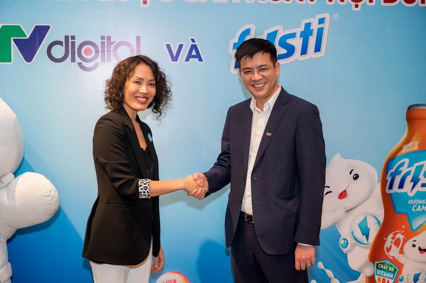 Fristi hợp tác cùng Vtv Digital thực hiện chương trình thiếu nhi phát sóng mỗi ngày 01