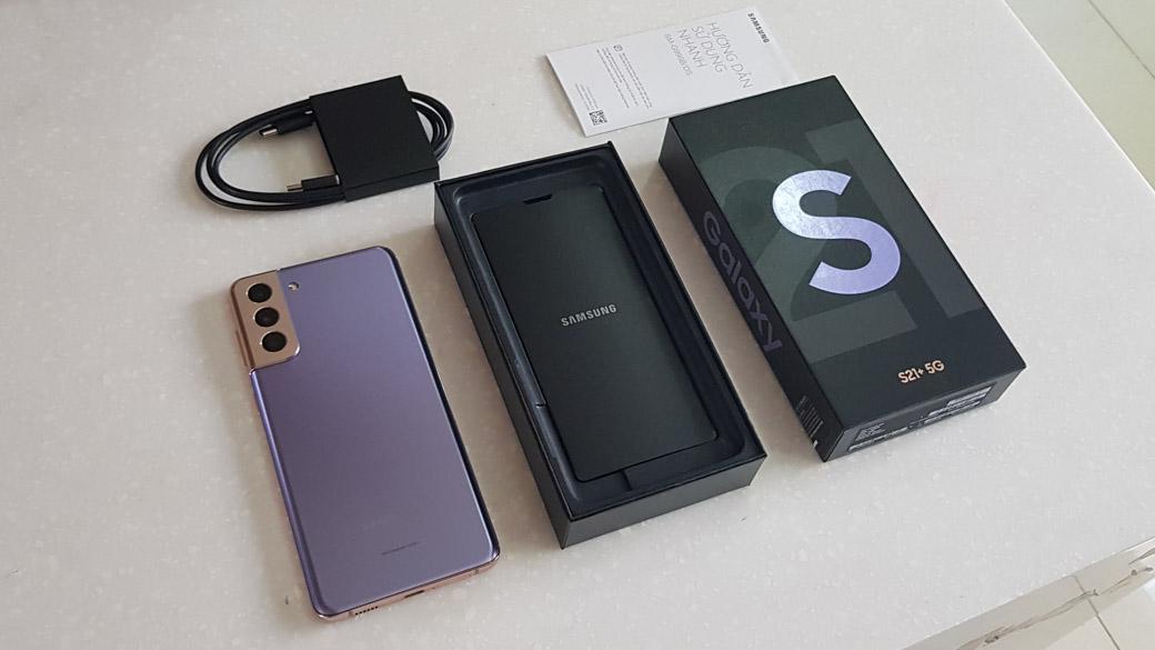 Trên tay Galaxy S21+5G phiên bản màu tím Violet vừa ra mắt tại Việt Nam-01