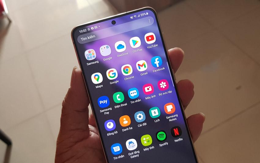 Trên tay Galaxy S21+5G phiên bản màu tím Violet vừa ra mắt tại Việt Nam-11