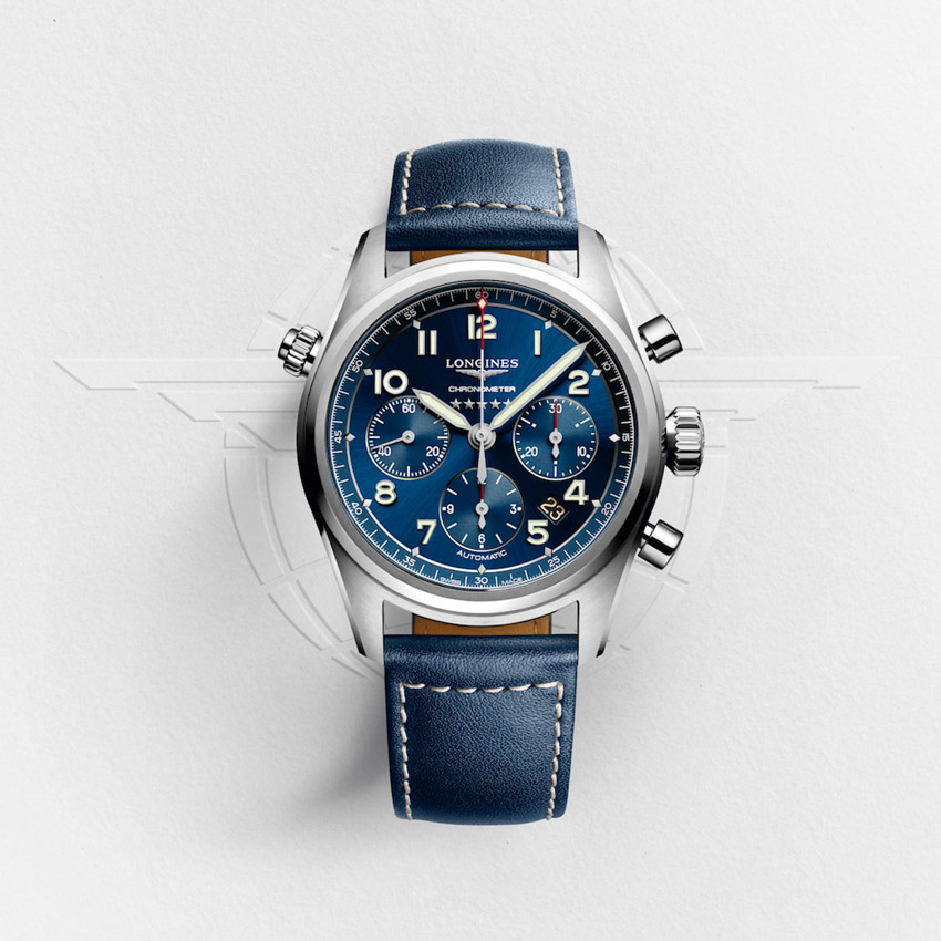Đồng hồ Longines Spirit tri ân những phi công khám phá bầu trời-5