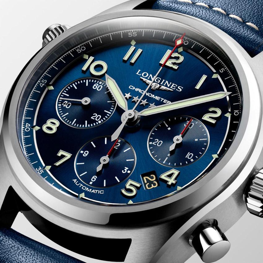 Đồng hồ Longines Spirit tri ân những phi công khám phá bầu trời-9