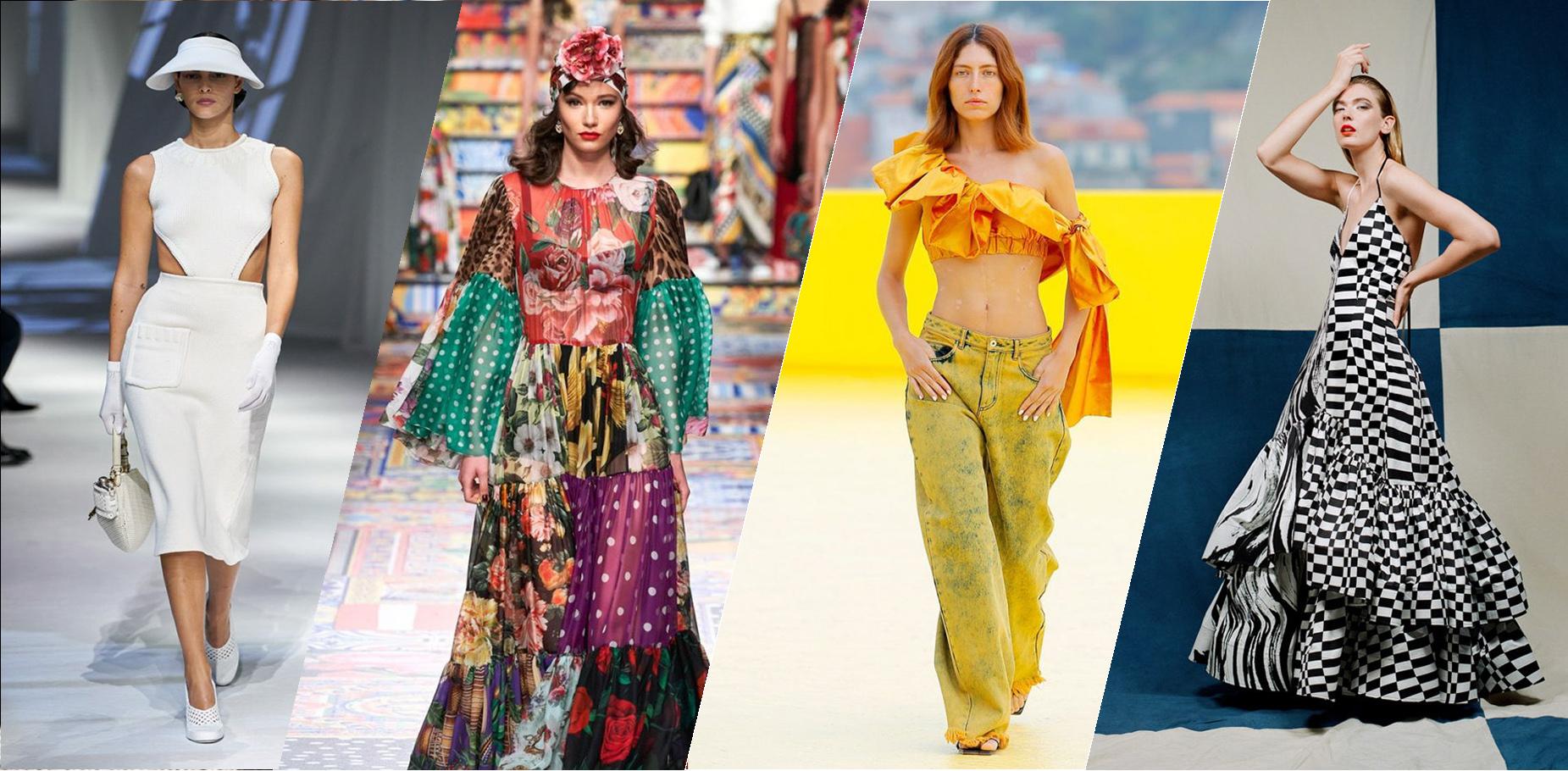 Điểm qua xu hướng thời trang xuân hè 2021