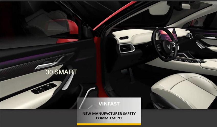 """Vinfast đoạt giải """"Hãng xe có cam kết cao về an toàn"""" ASEAN NCAP - 5"""