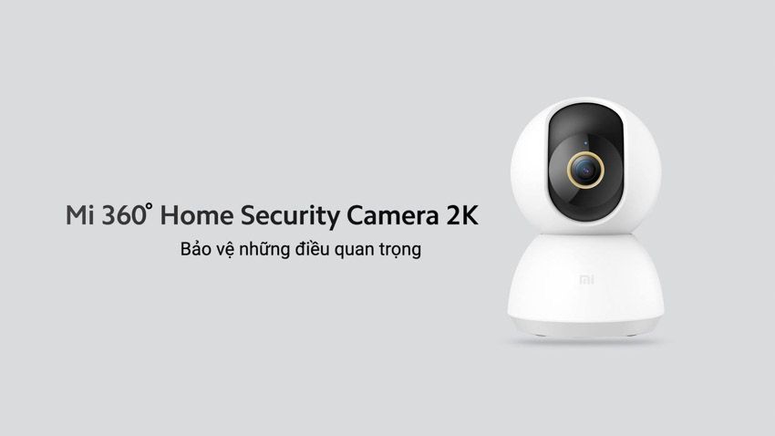 Camera an ninh 2K Mi 360º Home Security độ phân giải 2K - 2