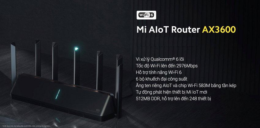 Mi AIoT Router AX3600: Router Wi-Fi 6 đầu tiên từ Xiaomi - 3