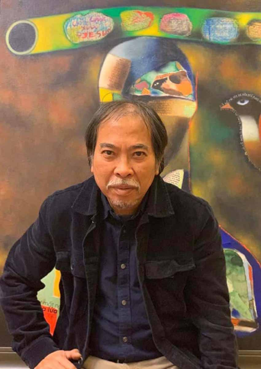 Thi sĩ Nguyễn Quang Thiều vẽ mộng du… - 12