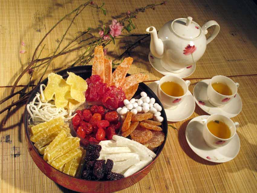 Món ăn không thể thiếu trong hương vị ngày tết - 1