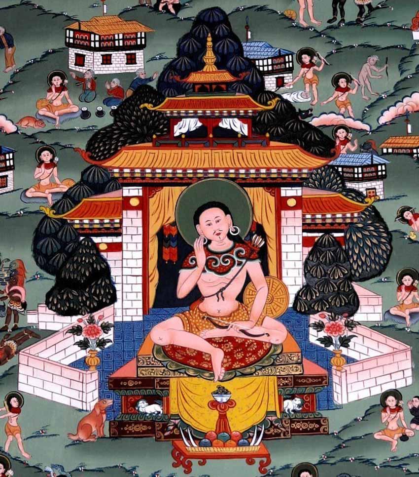 Ngày tết nói về biểu tượng phúc lộc đặc trưng của Bhutan - 2