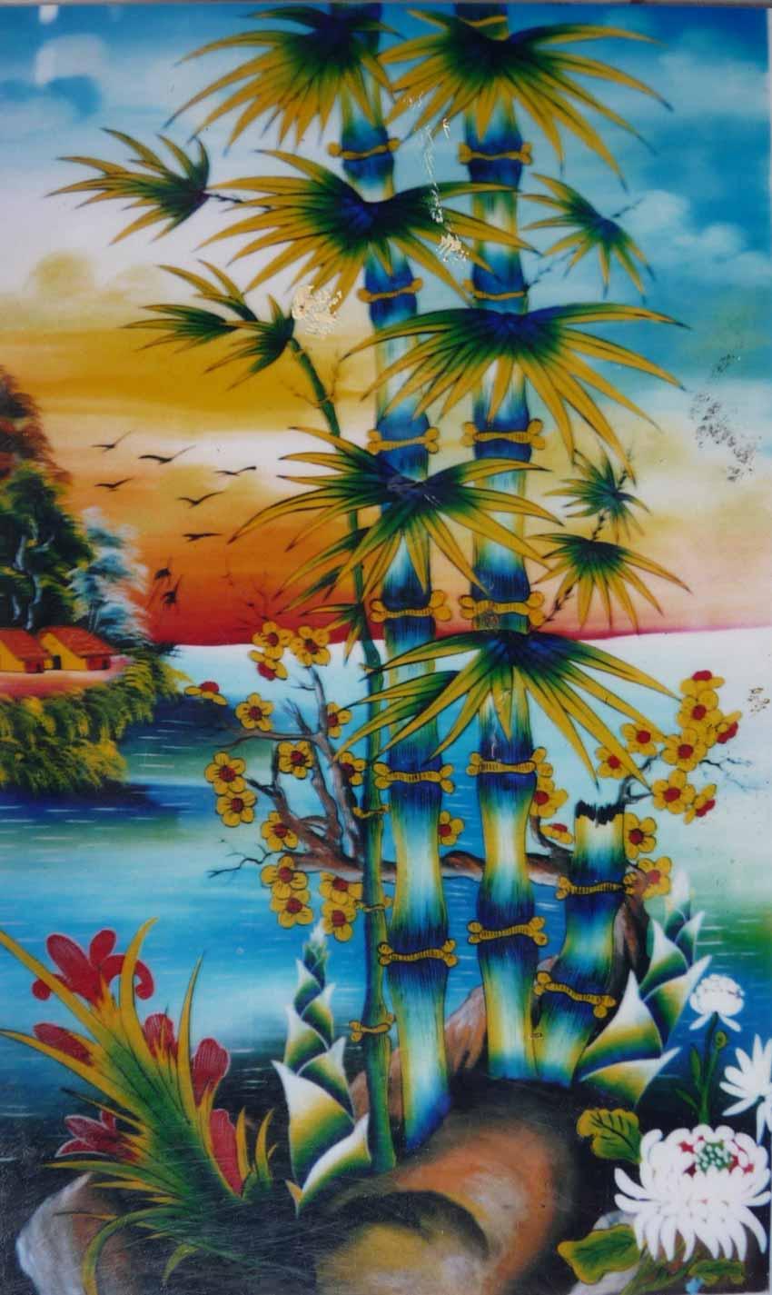 Ngày tết nói về các loại tranh kiếng thờ tổ tiên - 8