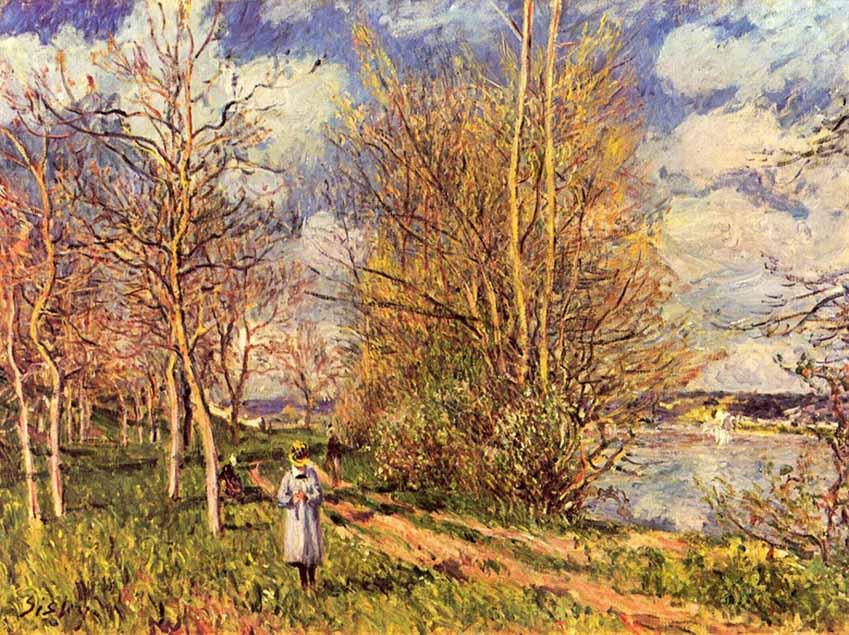 Những bức tranh mang hơi thở mùa xuân - 1