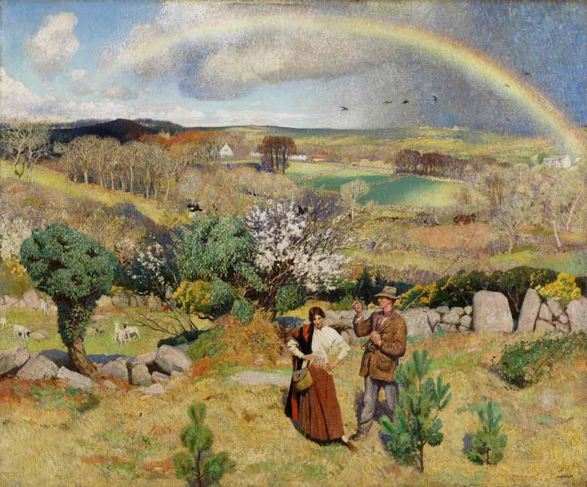 Những bức tranh mang hơi thở mùa xuân - 11