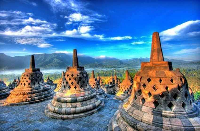Đến thăm đền thờ núi kỳ vĩ Borobudur - 3