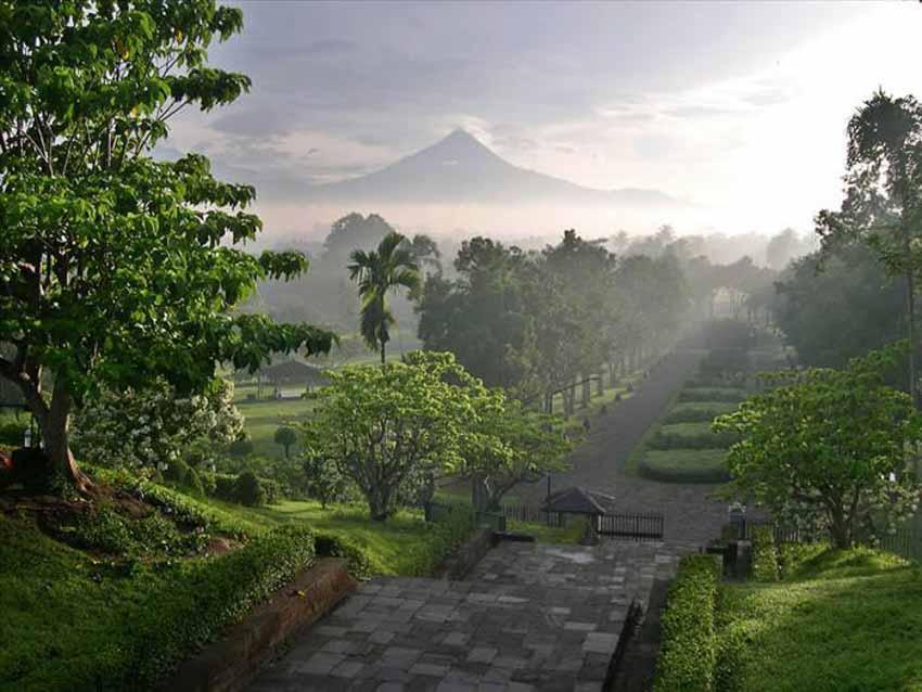 Đến thăm đền thờ núi kỳ vĩ Borobudur - 16